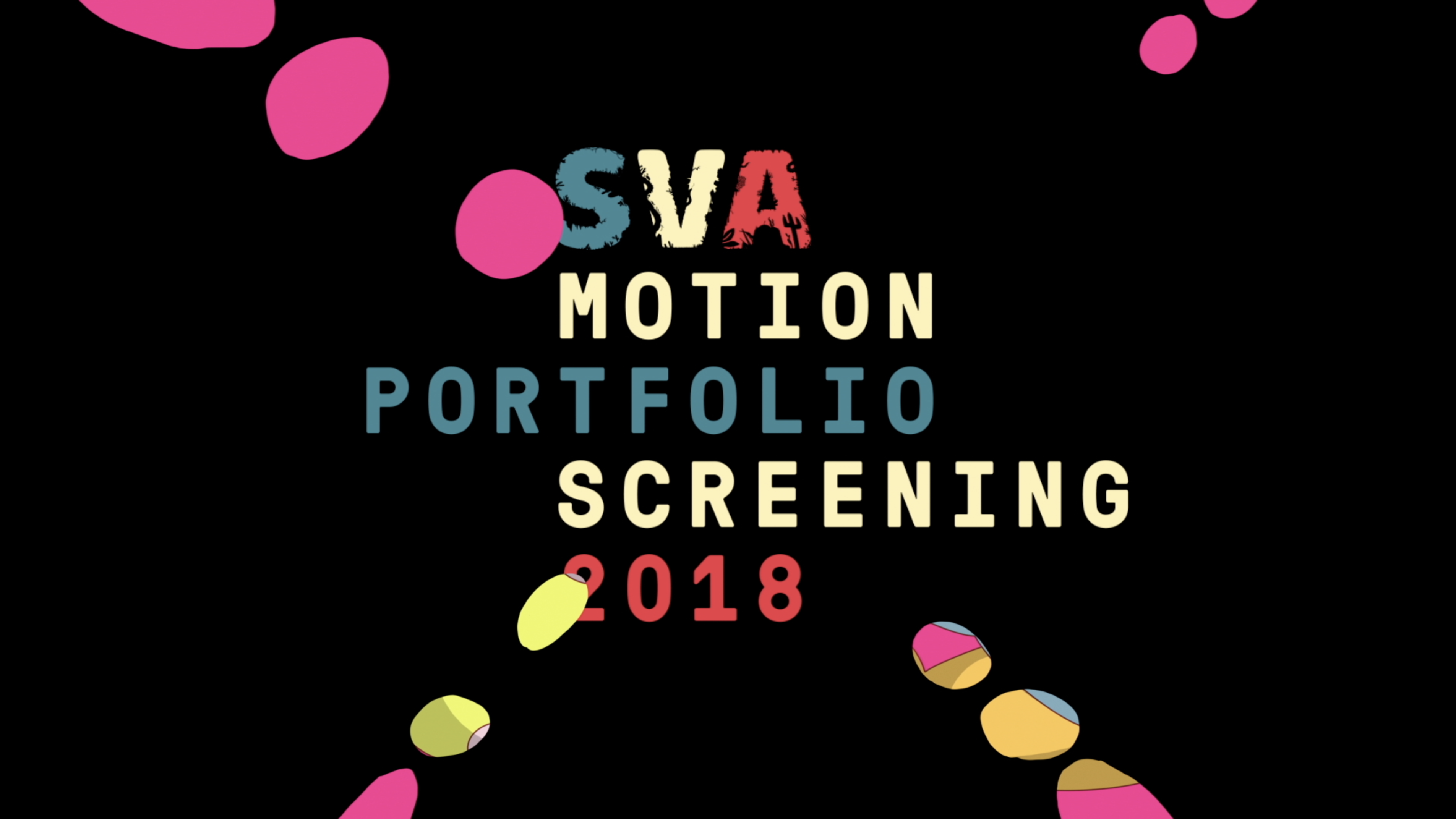 SVA Motion Graphics Portfolio Screening 2018